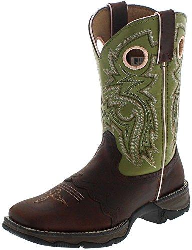 Durango Boots Damen Westernreitstiefel D3573 Meadow N´LACE Braun, Groesse:40 (8 US) -