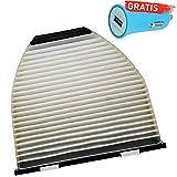 Original Filteristen Innenraumfilter PIRF-381-DE + Autoladegerät geschenkt