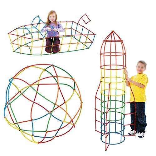 Millya - Juego 400 Piezas plástico Creativo Educativo