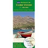 Mappa Cabo Verde (Capo Verde) 1:150000