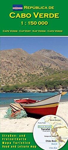 Carte Cabo Verde 1:150.000 (Cap-Vert)