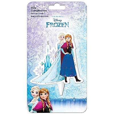 Vela cumpleaños 2D Elsa Frozen Disney por DISNEY FROZEN
