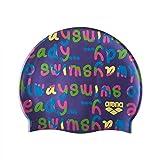 arena Kinder Badekappe Print Jr 94171 Log-Mirtilla One Size