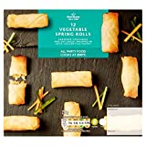 Morrisons 12 Vegetable Spring Rolls, 216 g (Frozen)
