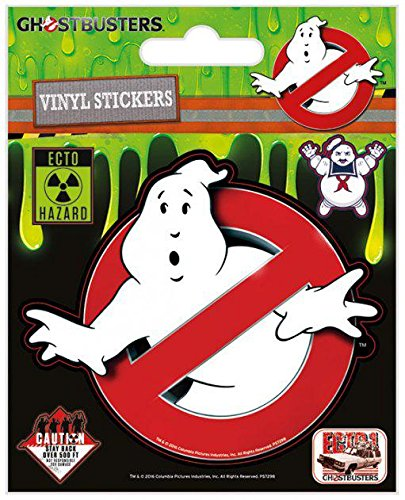 Ghostbusters Logo Aufkleber-Set (Supplies Ghostbusters Party)