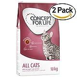Concept for Life tutti i gatti, con vitamin-b complessa, alta Premium cibo per gatti, 2x 10kg