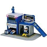 Tomica Hyper Blue Police maintenance base (japan import)