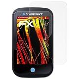 atFoliX Schutzfolie kompatibel mit Blaupunkt BikePilot Bildschirmschutzfolie, HD-Entspiegelung FX Folie (3X)