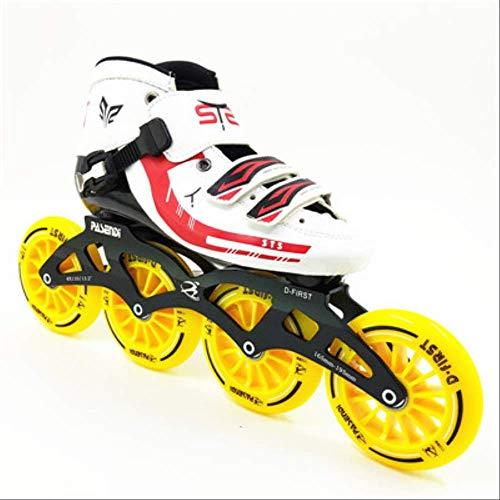 STBB Rollschuhe Speed Skates Roller Racing Skating Handgemachte Inline Speed Skat Skating Schuhe Rollschuhe Hohe Qualität 5
