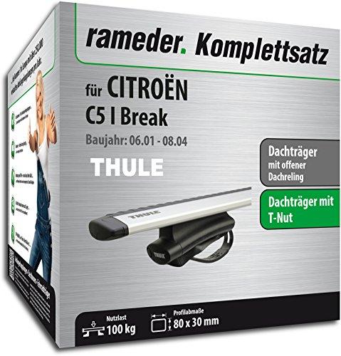 Rameder Komplettsatz, Dachträger WingBar für CITROËN C5 I Break (114464-04775-30)