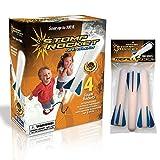 Junior Stomp Rocket Glow With Refill Foam Rockets