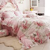 Best FADFAY Beddings - FADFAY Home Textile Pink Rose Floral Print Duvet Review