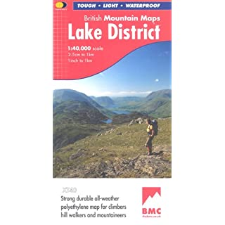 Lake District BMC (British Mountain Map)