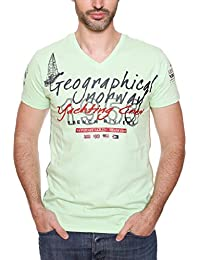 GEOGRAPHICAL NORWAY JEANCLAUDE Tricot avec les manches courtes Homme