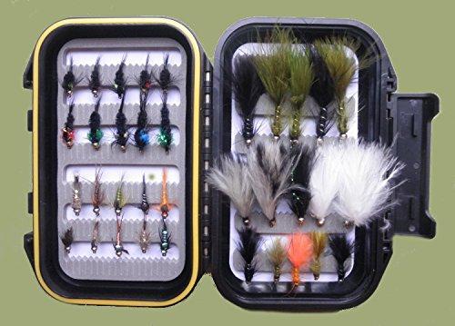 35GOLDHEAD Nymphe/lockt Forellenangeln Fliegen, Box Set, gemischt Größe 10/12