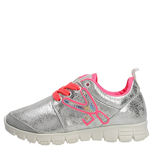 Snappy 400.30 Sneakers Bambina Pelle Argento Argento 36