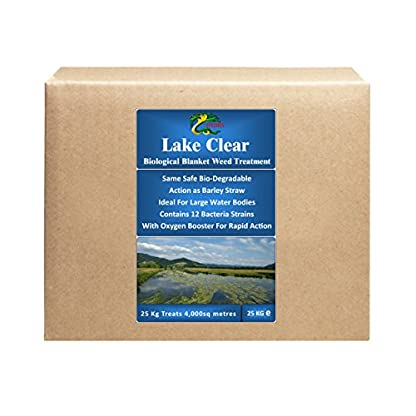 HYDRA Blanket Weed & String Algae Treatment for Lake and Larger Pond Water LAKE CLEAR 25KG 1