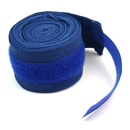 Pinzhi 1 Para Boxing Hand Wraps Boxbandagen Handgelenkschutz Faust Punching Blau