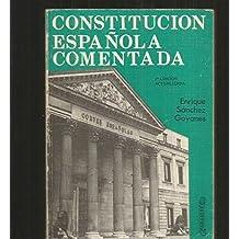 Constitucion española comentada