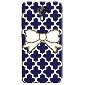 CUTE BOW BACK COVER FOR MICROMAX CANVAS EXPRESS