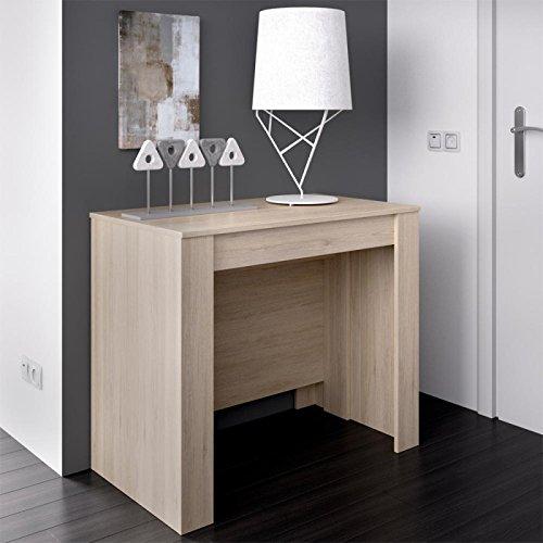 Wellindal Esstisch Kiona erweiterbar 54-239 cm - Erweiterbar Konsole Tisch