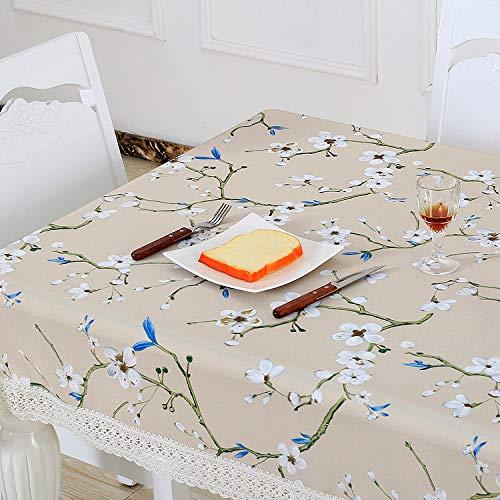CFWL Gartentischdecke rechteckige Wegwerftischdecke kleine runde Tischdecke Handtuch 005 140 * 140cm tischdecke gartentisch eckig gelb tischdecke gartentisch eckig groß