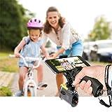 Fantaseal® 3en1 Poignée Grip, Universel Smartphone Support Micro-film Monopode Grande Plate-Forme Poignée Voyage pour 1/4''DSLR Caméra Sony FDR X-3000V+Iphone 8plus/8/7/Sony/Samsung etc