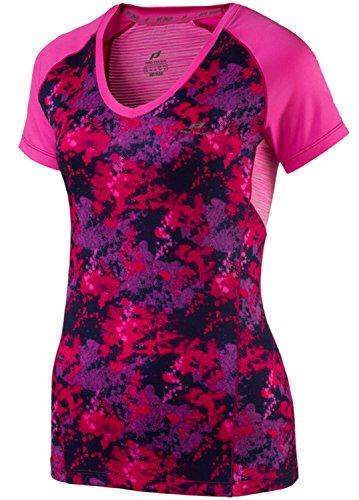 Pro Touch D T-shirt a maniche corte Rina III RED / AOP / PINK