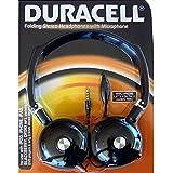 Duracell pliable casque stéréo avec microphone (Du2501)