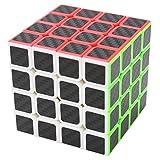 Puzzle Cube 4x4x4 Coolzon® Nouveau Cubo Autocollant de Carbone Fibre Ultra Rapide