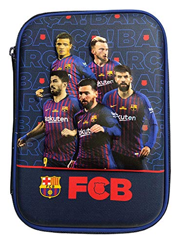 Mist Premium Pencil Boxes for Boys FCB Manchester Chelsea Football Club 3D EVA Hardtop Pencil Pouches for Girls and Boys (FCB)