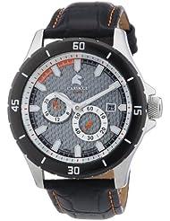Carucci Watches Herren-Armbanduhr XL Analog Automatik Leder CA2187SL