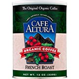 Best French Roast Coffees - Cafe Altura Organic Coffee, French Roast, Ground, 12-Ounce Review