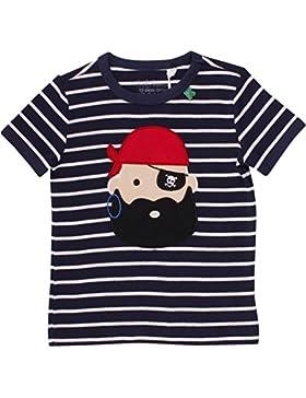 Fred's World by Green Cotton Sailor Stripe Pirate T, Camiseta para Niños