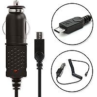 subtel® Chargeur Voiture de Qualité - 1.5m (1A) pour Anker SoundCore 1, 2, Mini 1, 2, Sport, Sport XL, Nano, Boost, Pro+/A3143/A7908 (5V/Micro USB) Chargeur Câble Secteur
