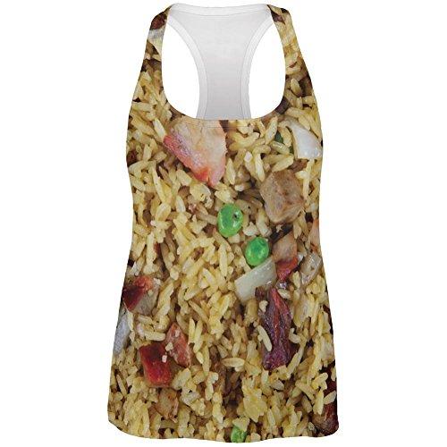 Schweinefleisch Fried Rice Kostüm aller Womens erarbeiten Tank Top (Kinder Kostüm Rice)