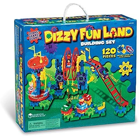 Learning Resources Gears! Gears! Gears! Dizzy Fun Land Motorized Set