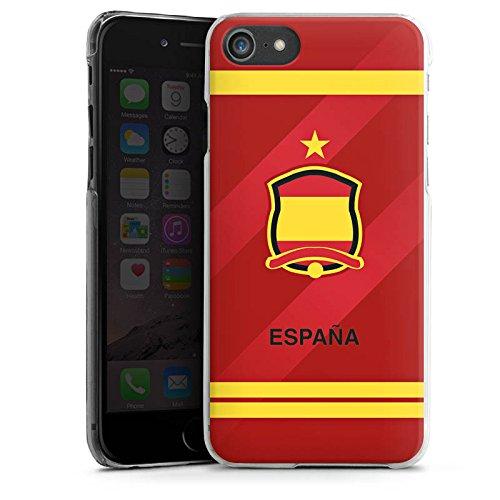 Apple iPhone X Silikon Hülle Case Schutzhülle spanien fussball fußball Hard Case transparent