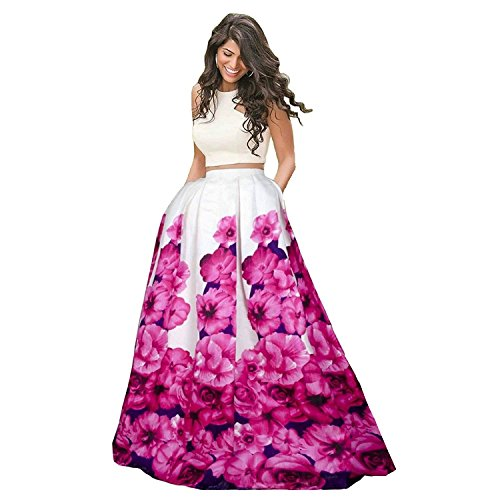new collection 2018 Lehenga choli for women and girls (Rose-Lehenga_free-size_multi-colored) (Pink)