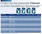 Philips FC9530/09 PowerPro Active (Staubsauger ohne Beutel, TriActive+ Düse, EPA 10-Filter, 750 Watt, EEK A) schwarz, Aktionsradius: 595cm - 7