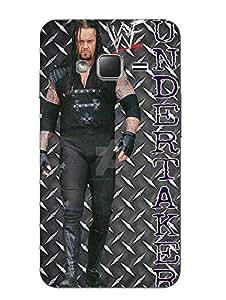 Make My Print Undertaker Printed Black Hard Back Cover For Samsung Z1