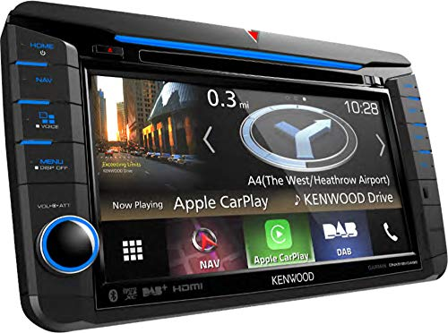 Kenwood DNX518VDABS Navigationssystem (Kontinent) (Autoradio Kenwood Touch Screen)