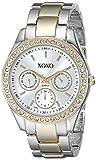 XOXO Women's XO5429 Rhinestone Accent Tw...
