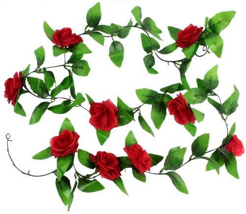 leegoal-artificial-hanging-vine-silk-rose-flower-leaves-garland-home-garden-wall-decoration-red