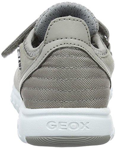 Geox J Xunday C, Sneakers Basses Garçon Gris (Greyc1006)