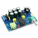 MXECO TPA6120 Placa de Amplificador de Auriculares TPA6120A2 HiFi Placa de Amplificador de Ruido Cero DIY / Acabado (Azul)