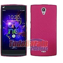 Funda Fucsia Gel Tpu para Orange Nura / Alcatel One Touch M812