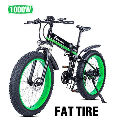 Shengmilo Bicicletas Electricas Plegable Bicicleta e-Bike Montaña Electrica e Bike Ciudad Electrica...
