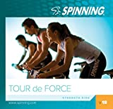 Spinning® Übung Musik CD Volume 18-Tour De Force, Blau-blau, 46