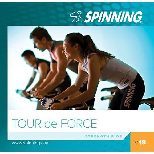 51c%2B%2Bzu8rDL. SS500  - Spinning Unisex's Volume 18 Tour De Force Exercise Music Cd, Blue, Size